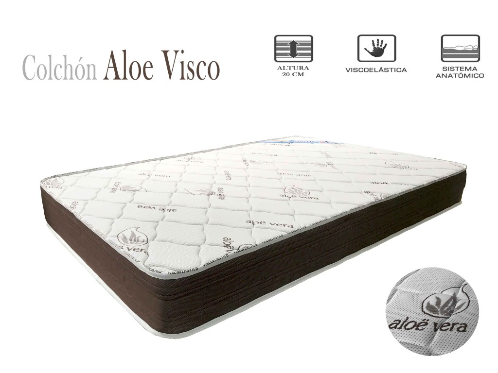 Colch N Aloe Visco Expodirect ~ Los Mejores Colchones Para La Espalda