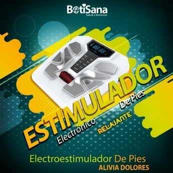 ELECTROESTIMULADOR DE  PIES