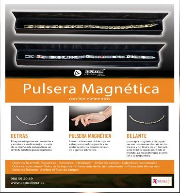 Pulsera Magnética con Bioelementos