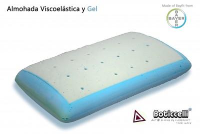 Almohada de Viscoelástica y Gel