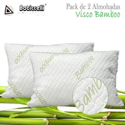 Pack de Almohadas Visco Bambú