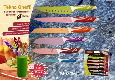 Cuchillos Japoneses 6 Piezas