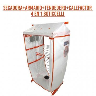 SECADORA+ARMARIO+TENDEDERO+CALEFACTOR 4 EN 1 BOTICCELLI