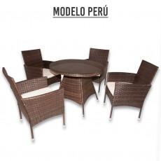CONJUNTO JARDIN 5 piezas Modelo Peru