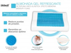 Almohada Cervical de Gel