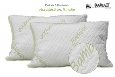Pack de Almohadas Visco Bambú