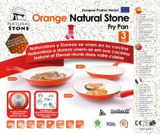 Set de 3 Sartenes Natural Stone